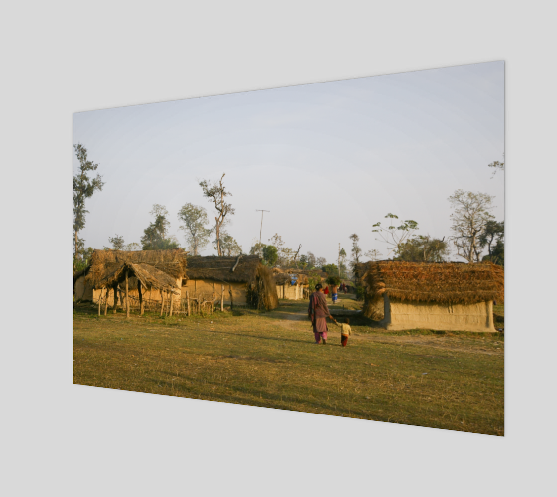 A Walk Through The Village - Nepal preview