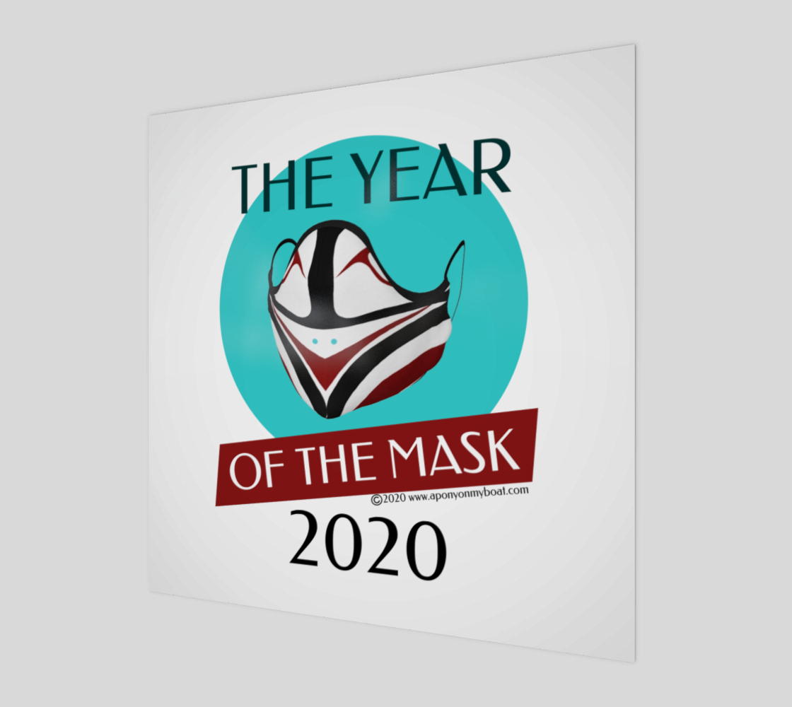 The Year of The Mask Wall Art Print & Poster preview