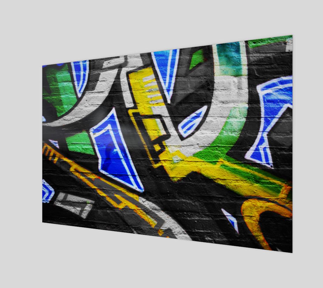 Graffiti 6 Art Print preview