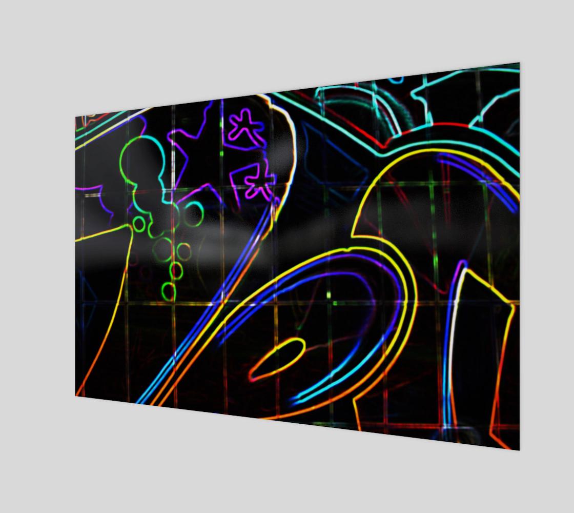 Graffiti 10 Art Print preview