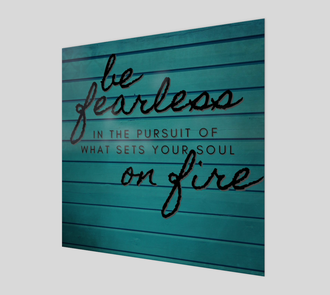 be fearless preview