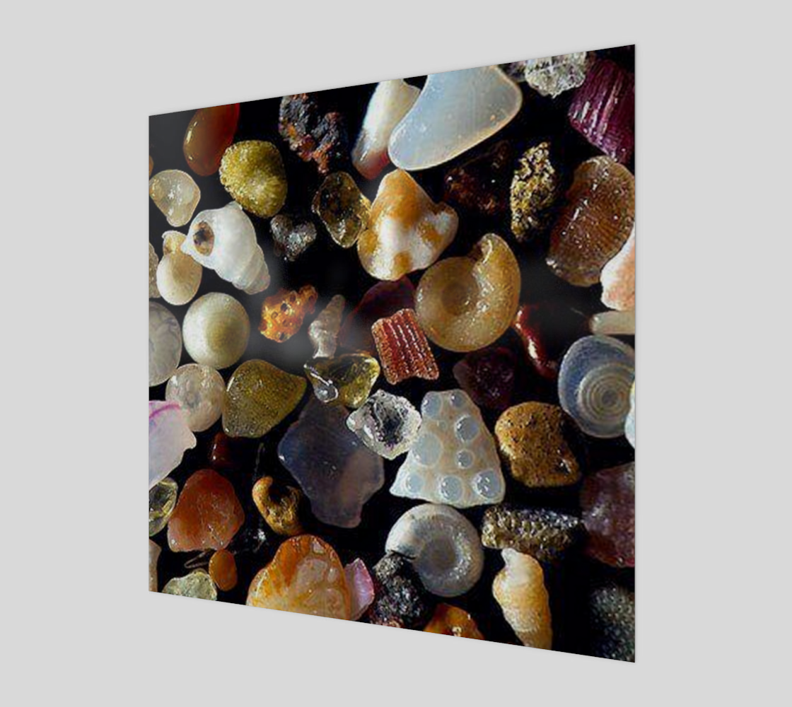 250x Sand Wall Art Wood Poster Print preview