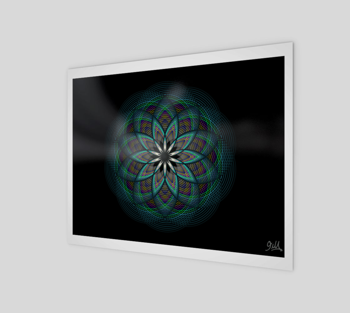 Sacred Flower 8x10 Art Print  preview