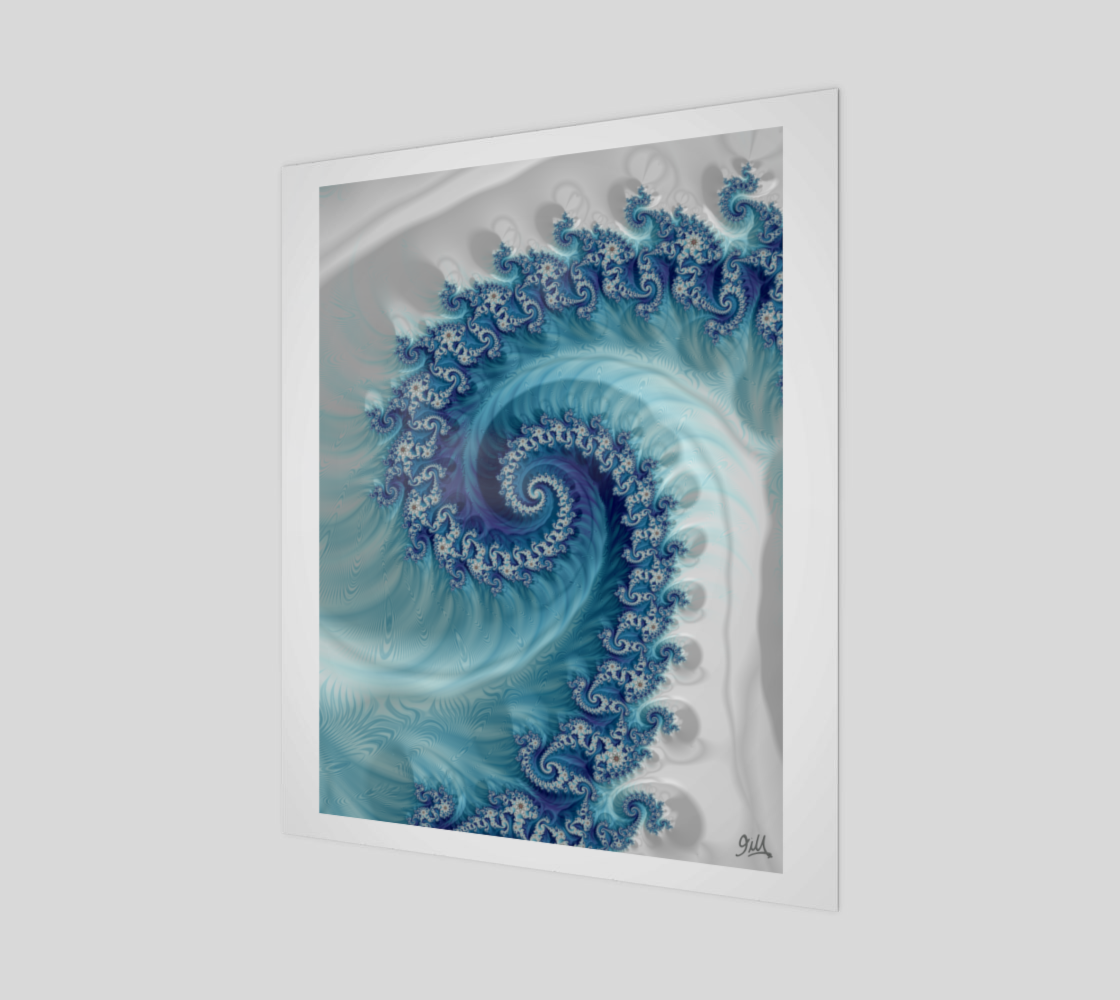 Sound of Seashell 20x24 Art Print preview