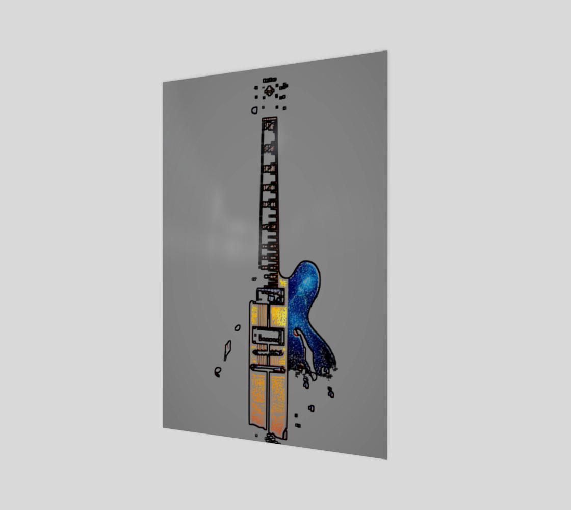 Guitar 4 Art Print preview