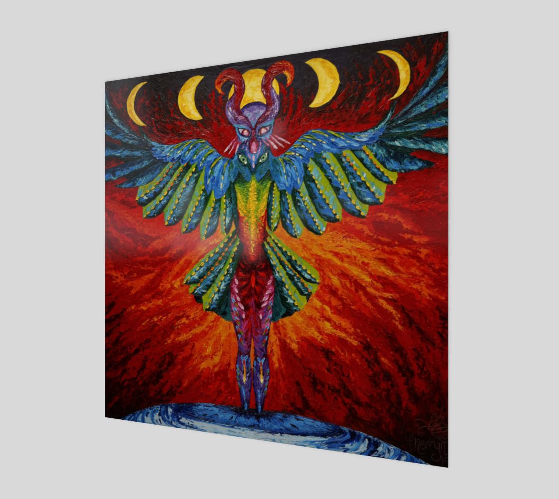 Raven Goddess Wall Art preview