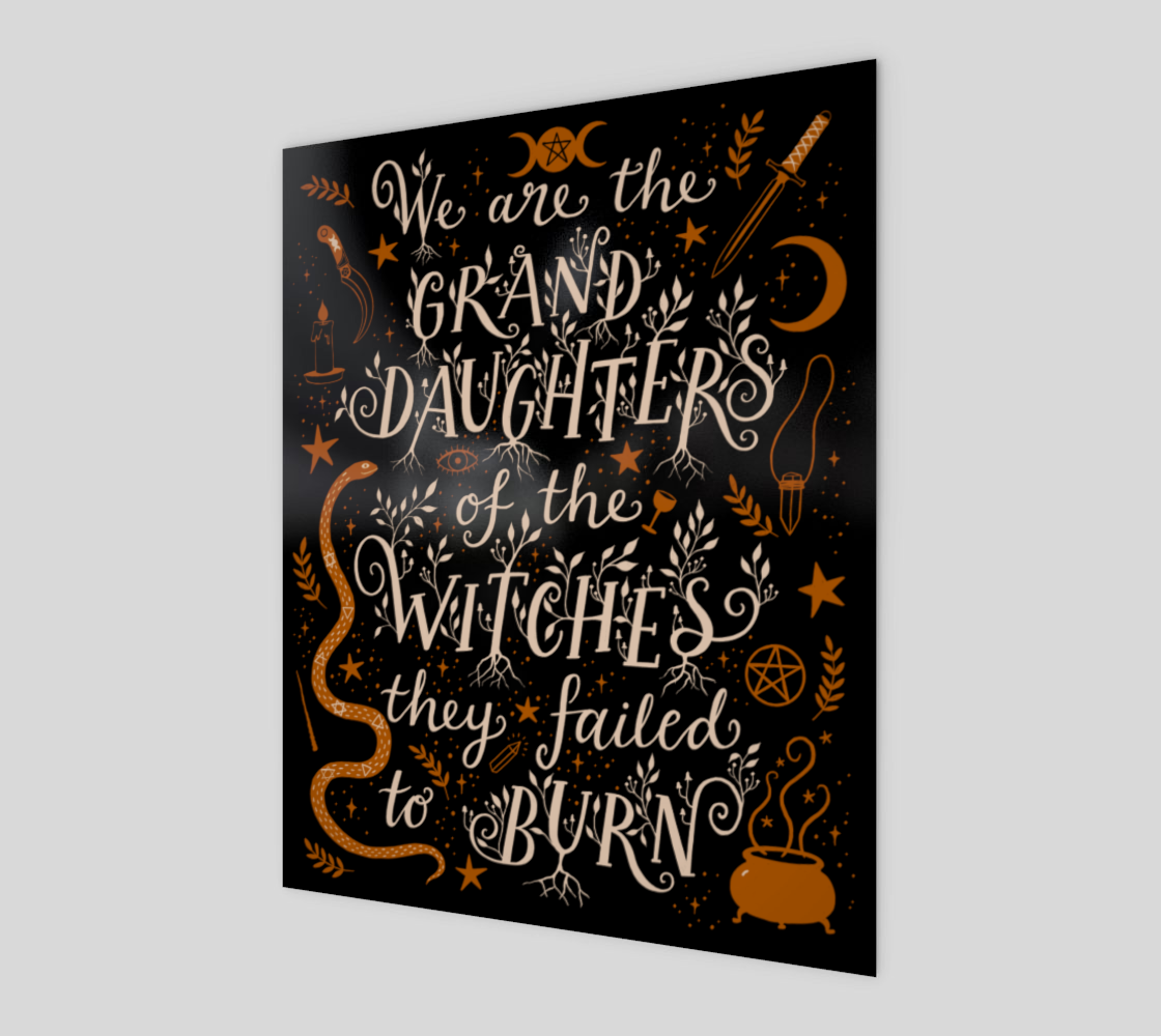 Granddaughters of Witches on Black preview