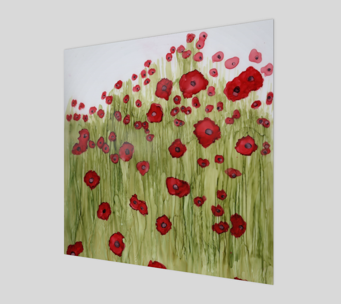 Flanders field prints preview