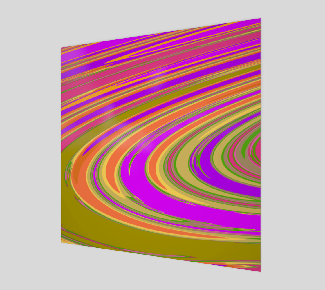 Curve in Purple Orange and Green preview