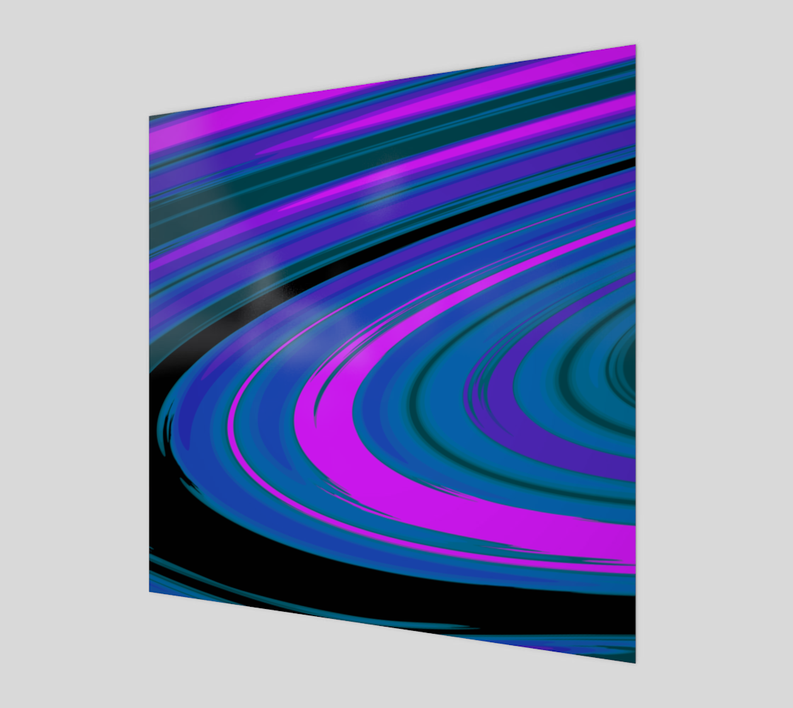 Curve in Pink Blue and Green preview