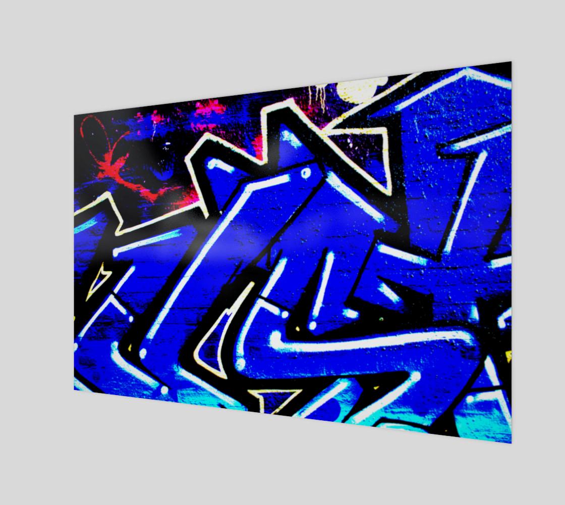 Graffiti 13 Wood Print preview