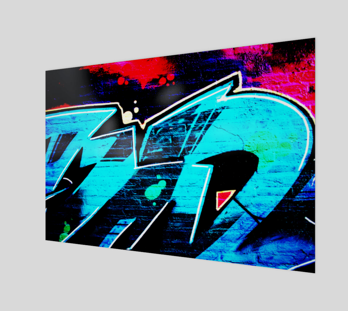 Graffiti 14 Art Print preview