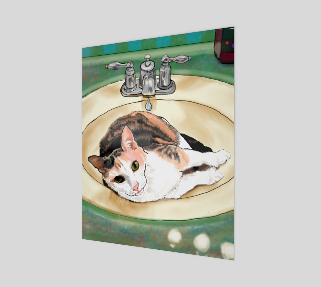 Cat in Sink preview