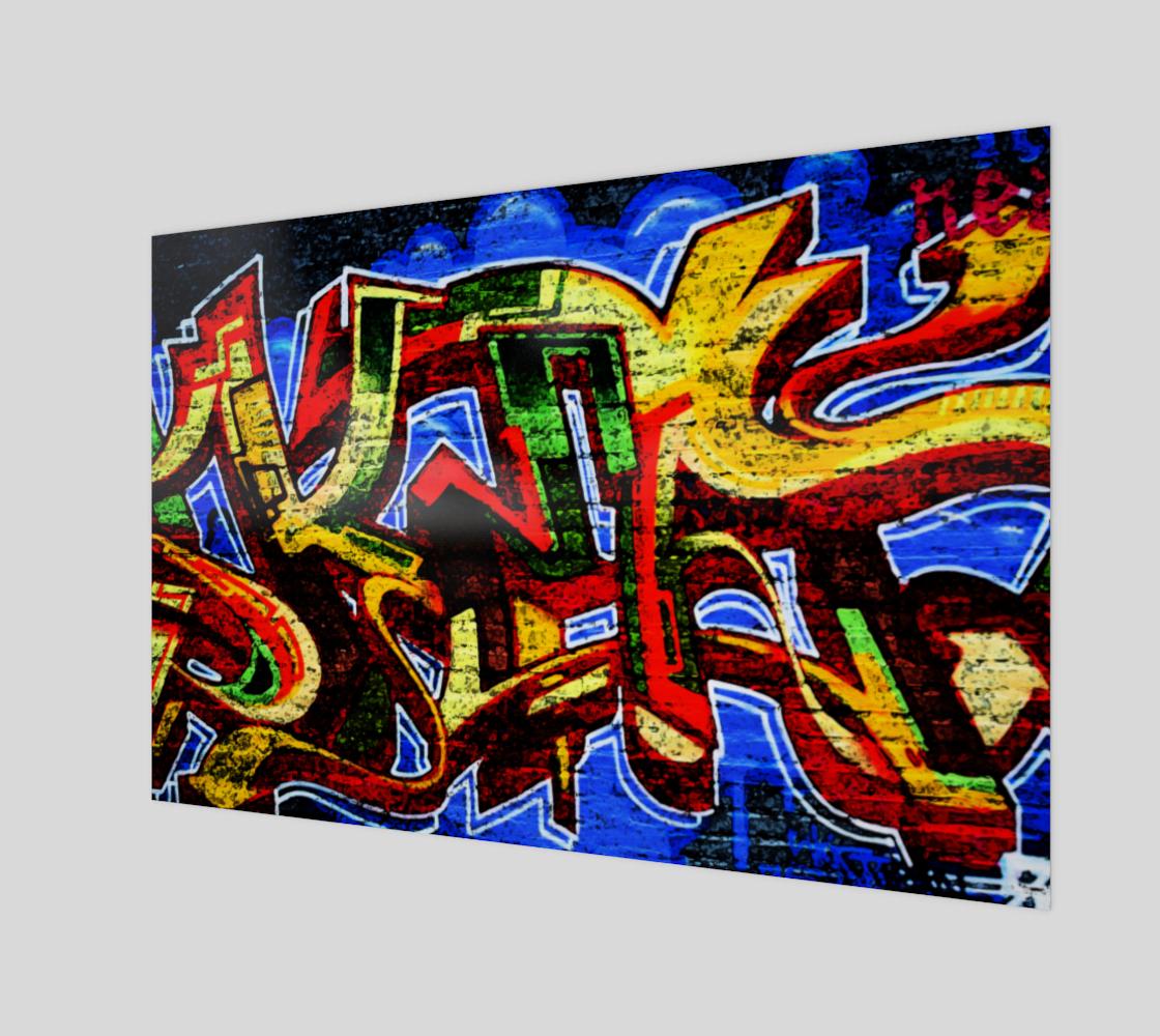 Graffiti 17 Art Print preview