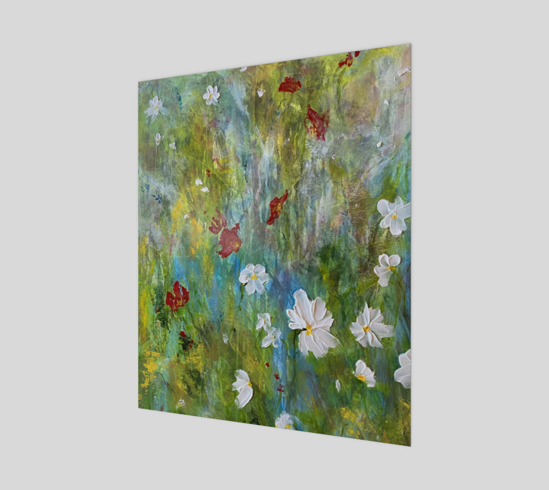 Grasses Blowing in a Summer Breeze by Painterly Cindy and More preview