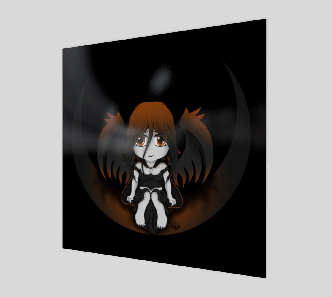Gothickangel Orange Crescent Moon preview