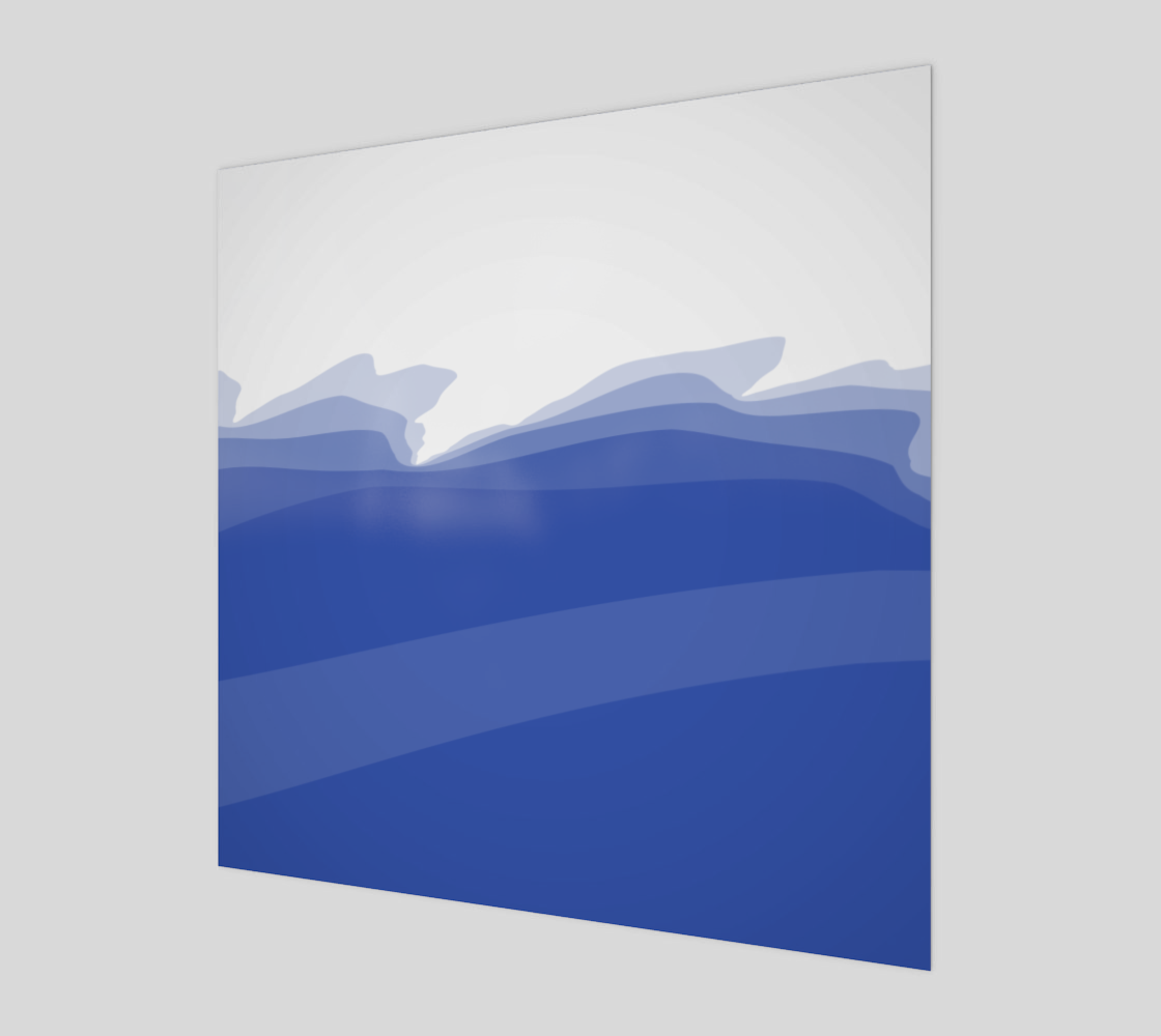 Ocean Wave With White preview