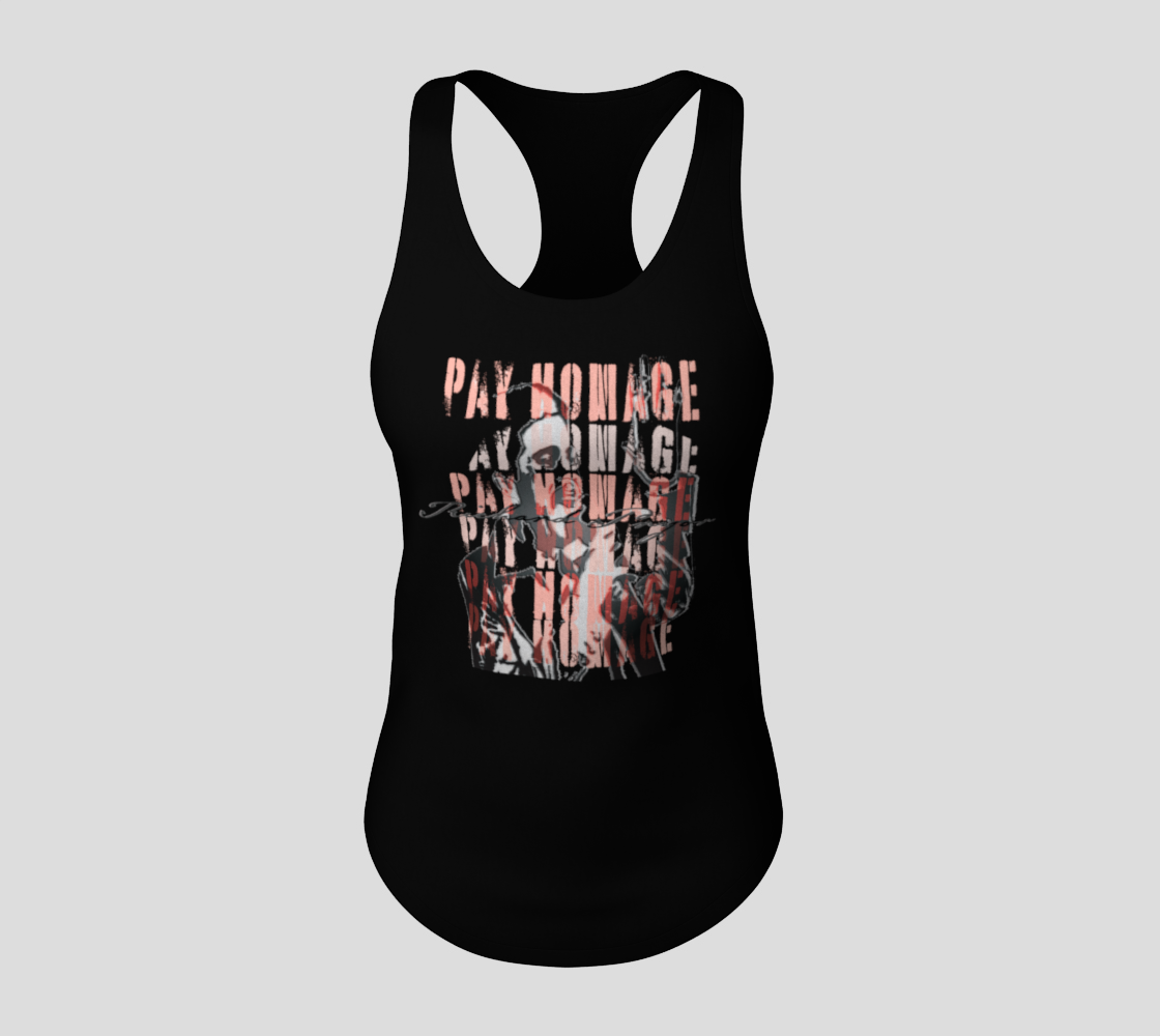 Richard P Comedy Fan Pay Homage Tank by VCD © preview #3