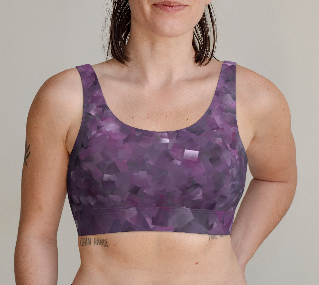 Muted Mauve In Cubes preview