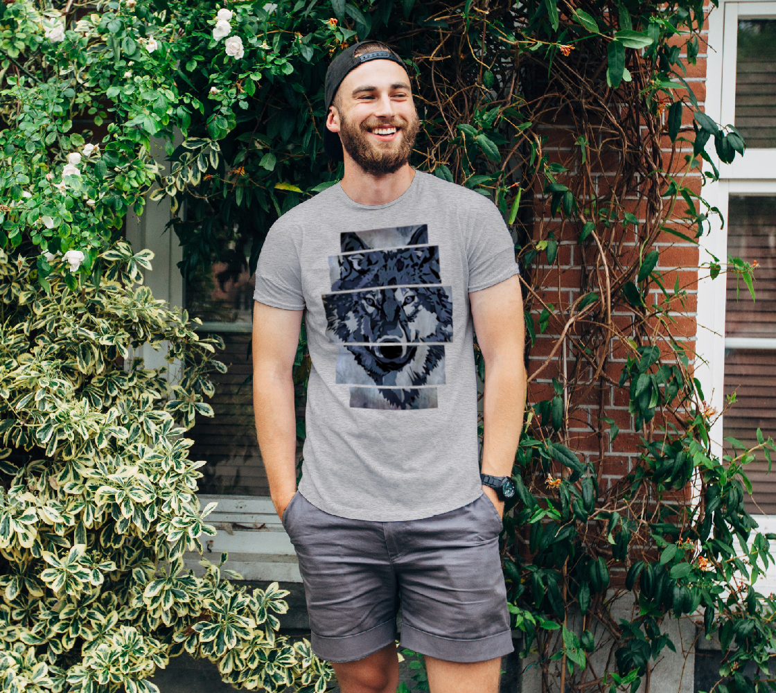 Unisex Tee Wolf Art preview