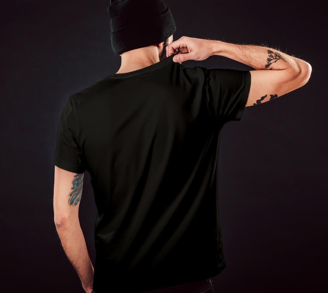Skull Floral Memento Unisex T-Shirt preview #5