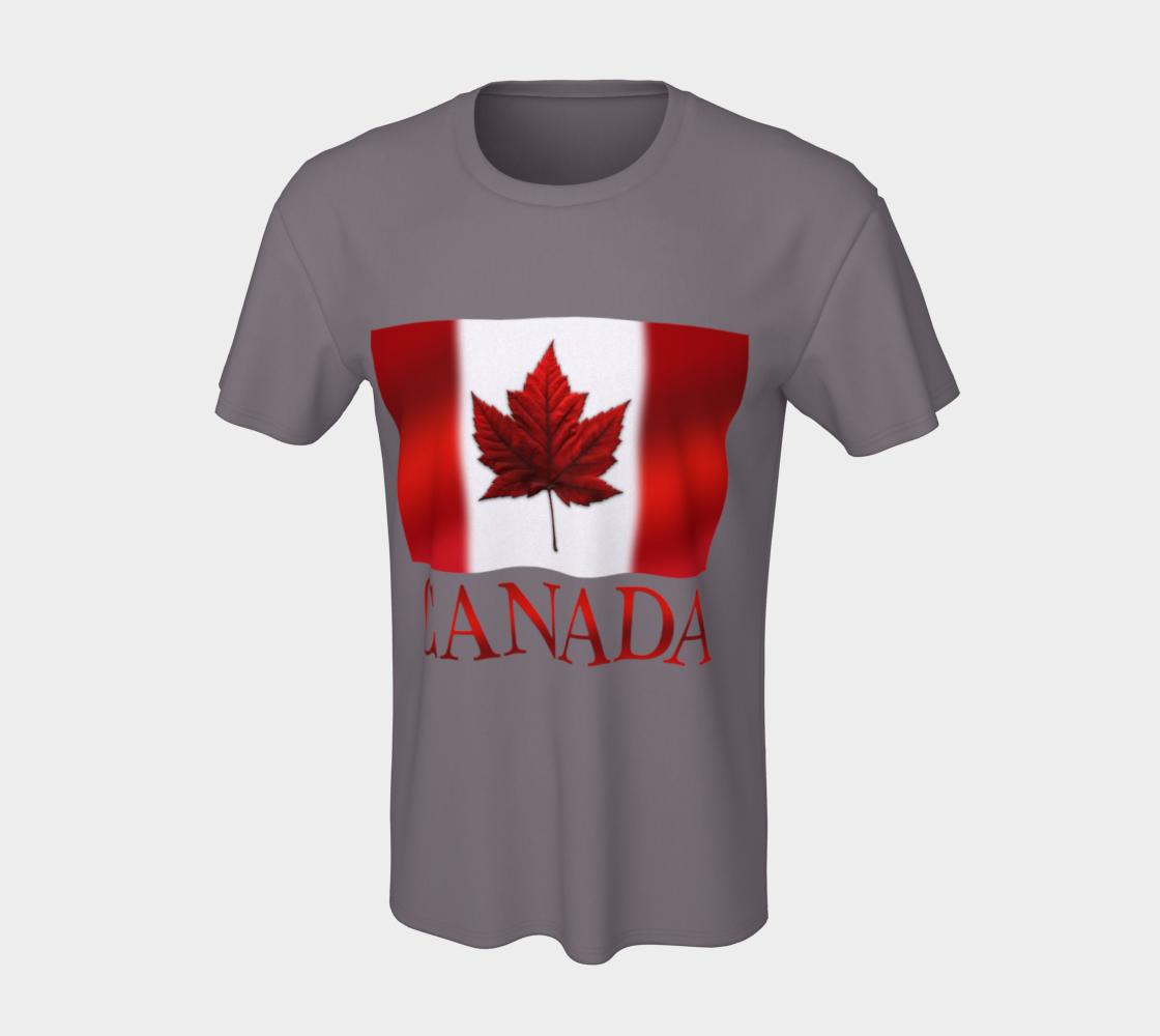 Canada Flag T-shirts Canada Souvenir Shirts preview #7