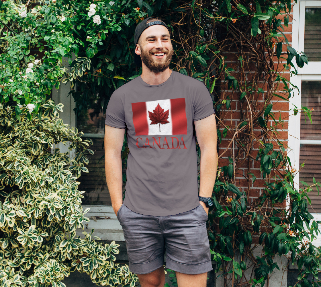 Canada Flag T-shirts Canada Souvenir Shirts preview