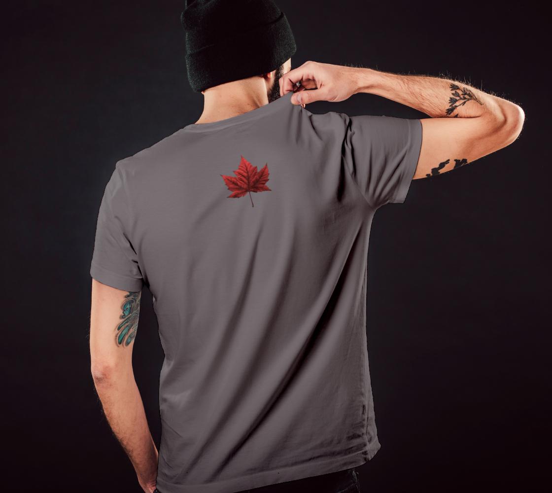 Canada Flag T-shirts Canada Souvenir Shirts preview #5