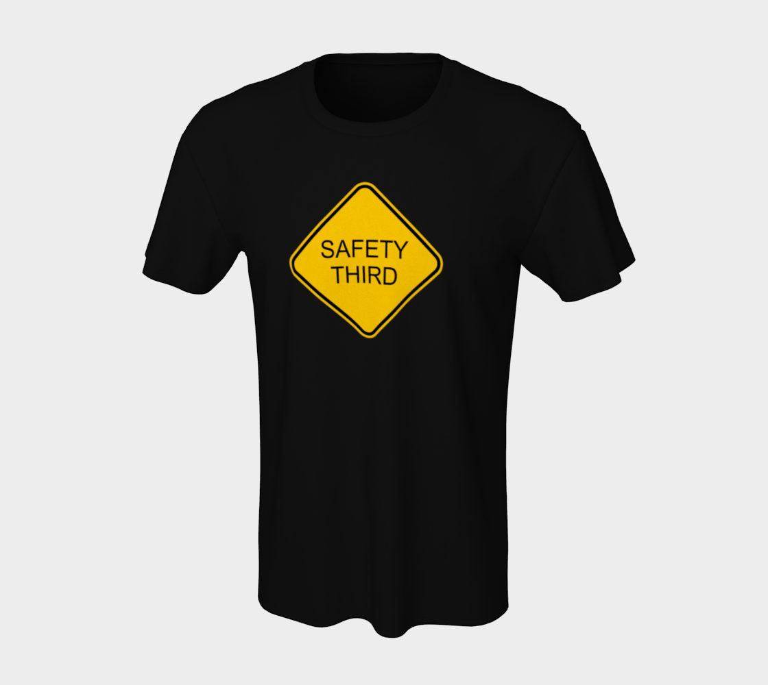 Safety Third Sign preview #7