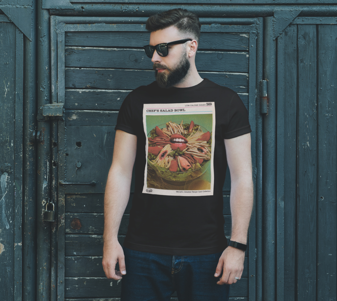 Chef's Salad Bowl T-Shirt preview #2