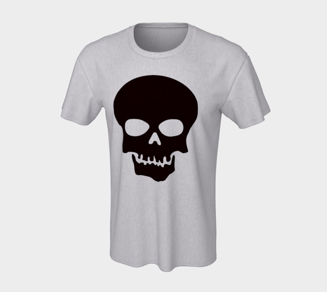 Basic Cartoon Skull unisex t shirt preview #7