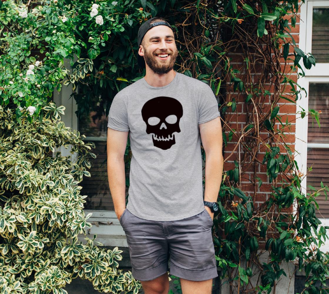 Basic Cartoon Skull unisex t shirt preview