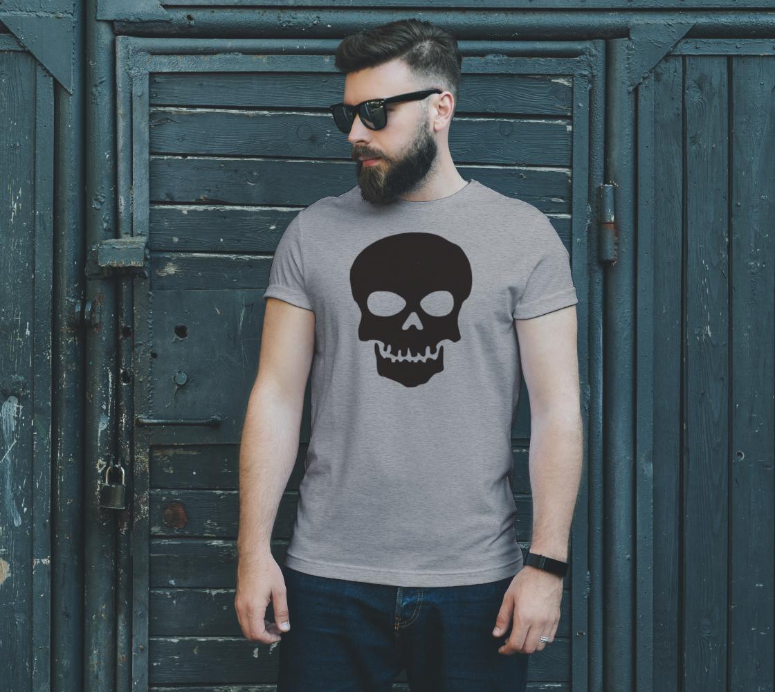 Basic Cartoon Skull unisex t shirt preview #2