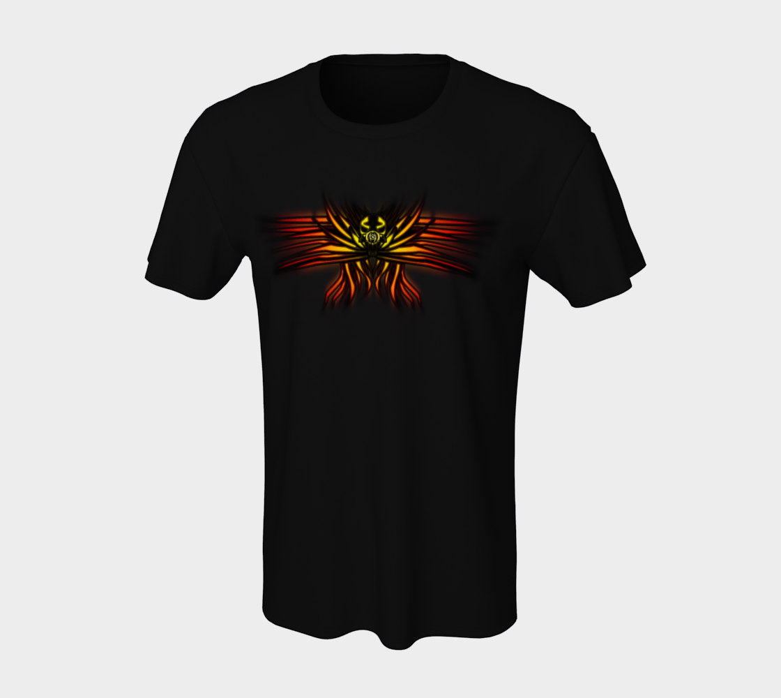 Aperçu de Seraphim Skull T-Shirt #7