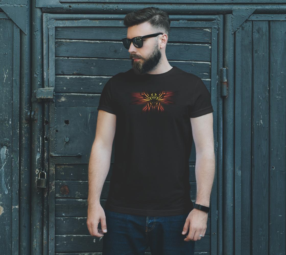 Aperçu de Seraphim Skull T-Shirt #2