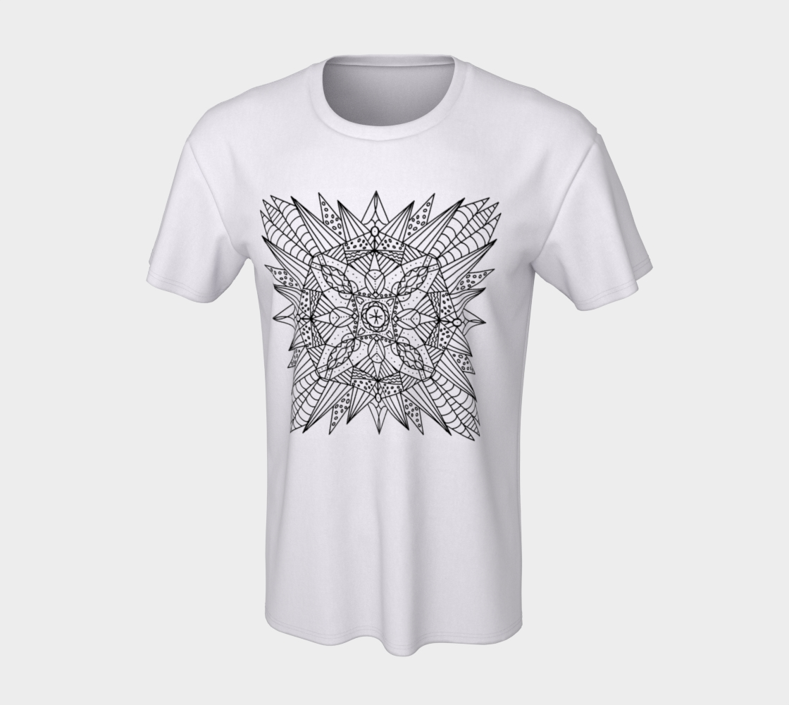 Starburst - ColorMe Tee preview #7