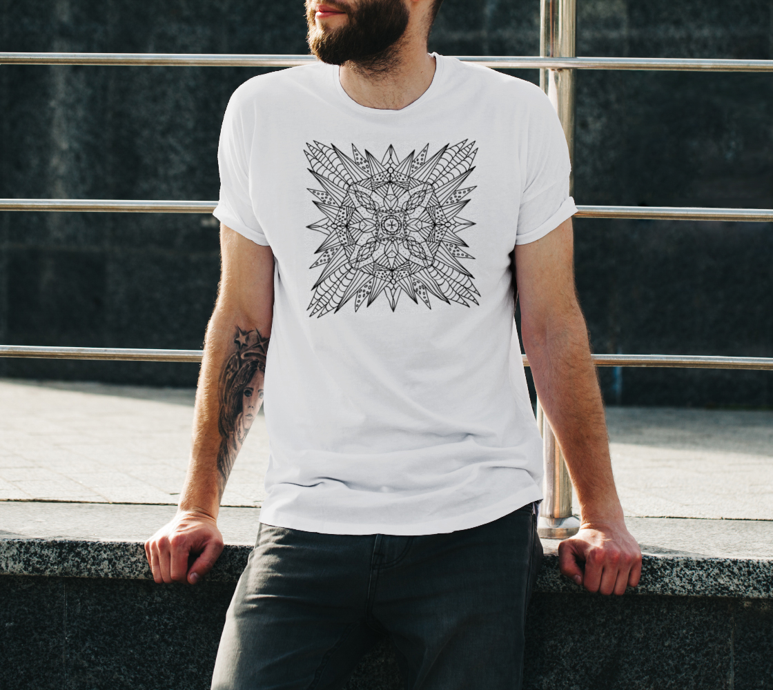 Starburst - ColorMe Tee preview #3