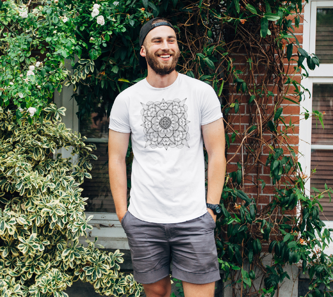Flower in Shade - ColorMe Tee preview