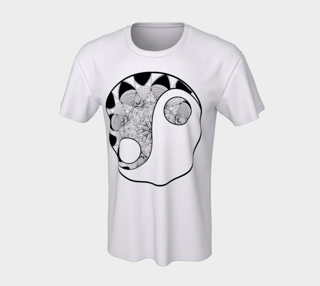 Yin Yang - ColorMe Tees preview #7