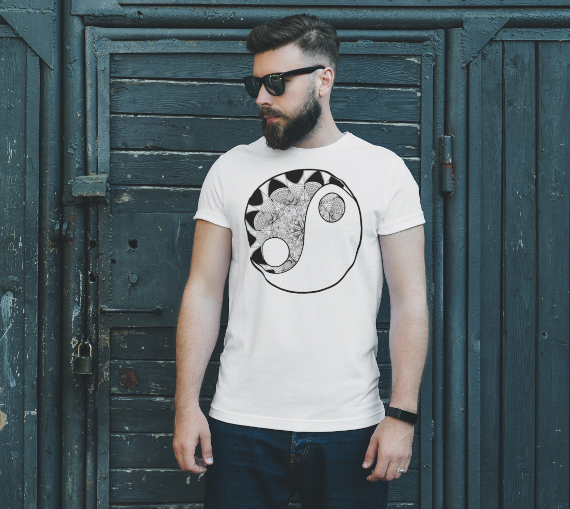 Yin Yang - ColorMe Tees preview #2