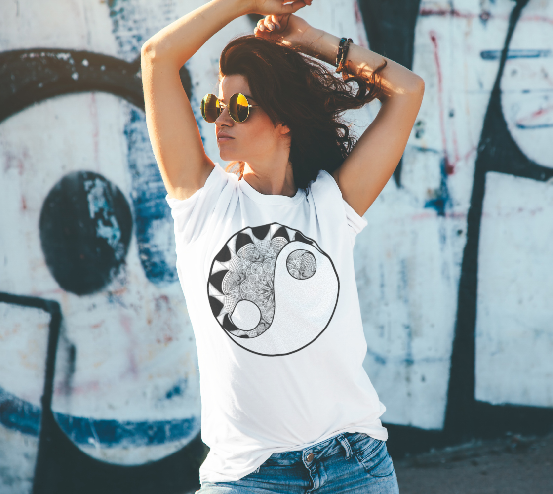 Yin Yang - ColorMe Tees preview #4