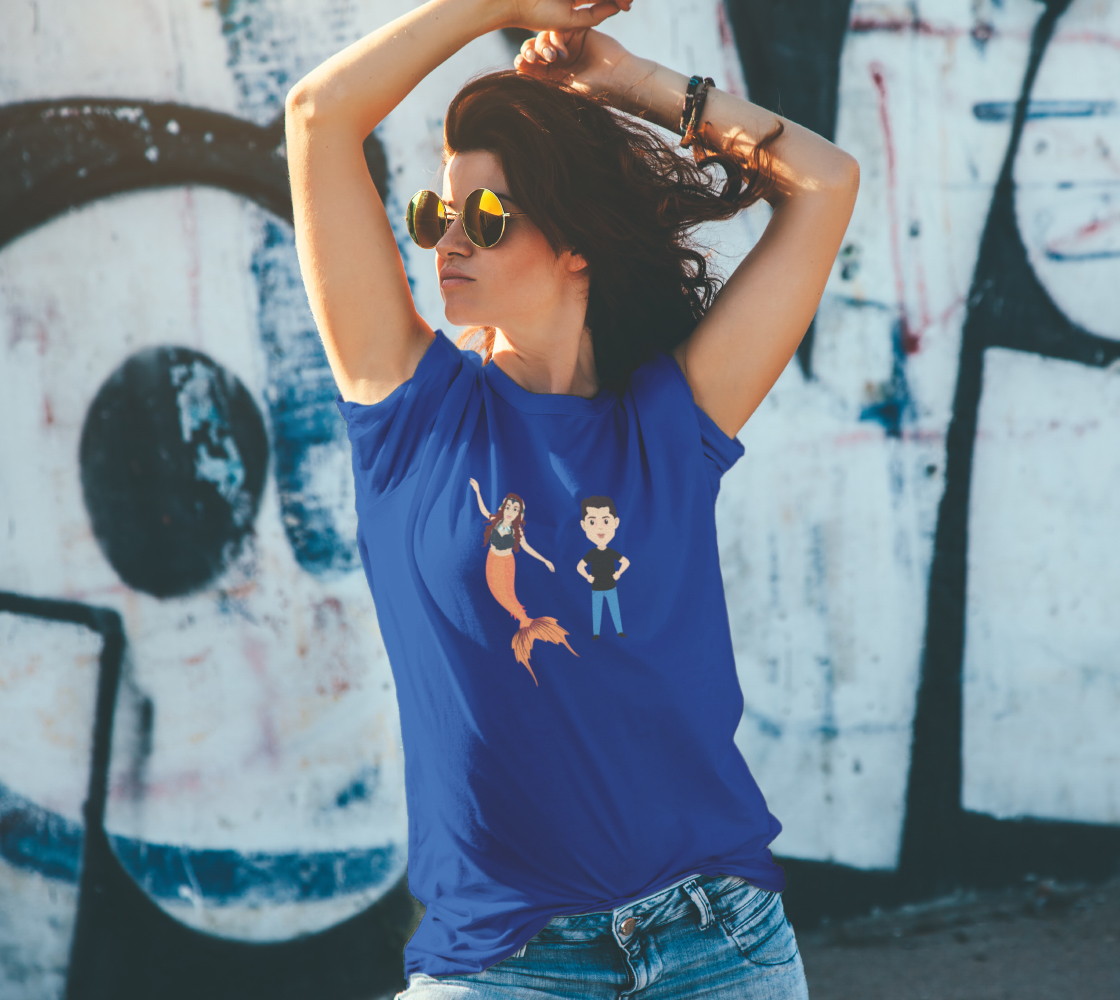Raina and Merwrangler Sean Uni-Sex T Shirt preview #4