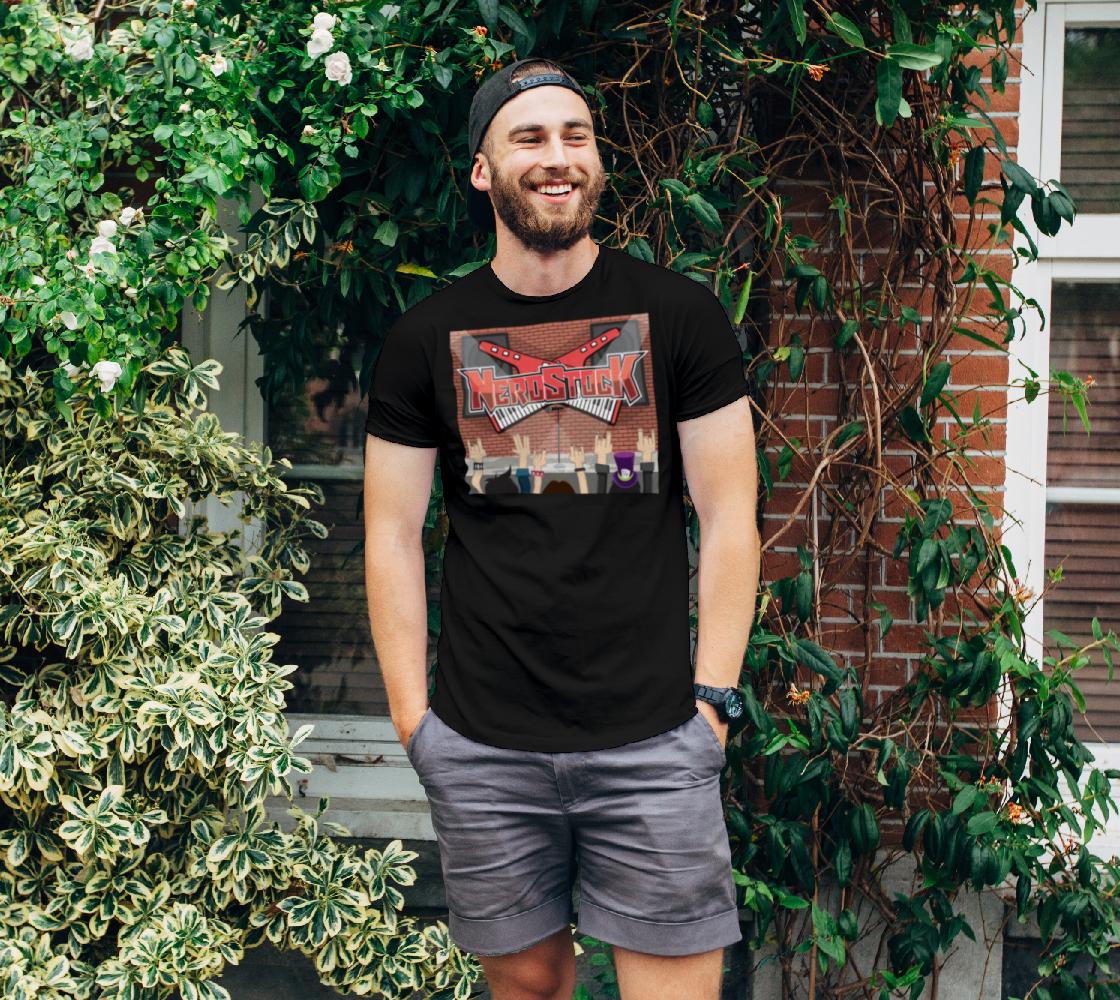 Decker design on t-shirt preview