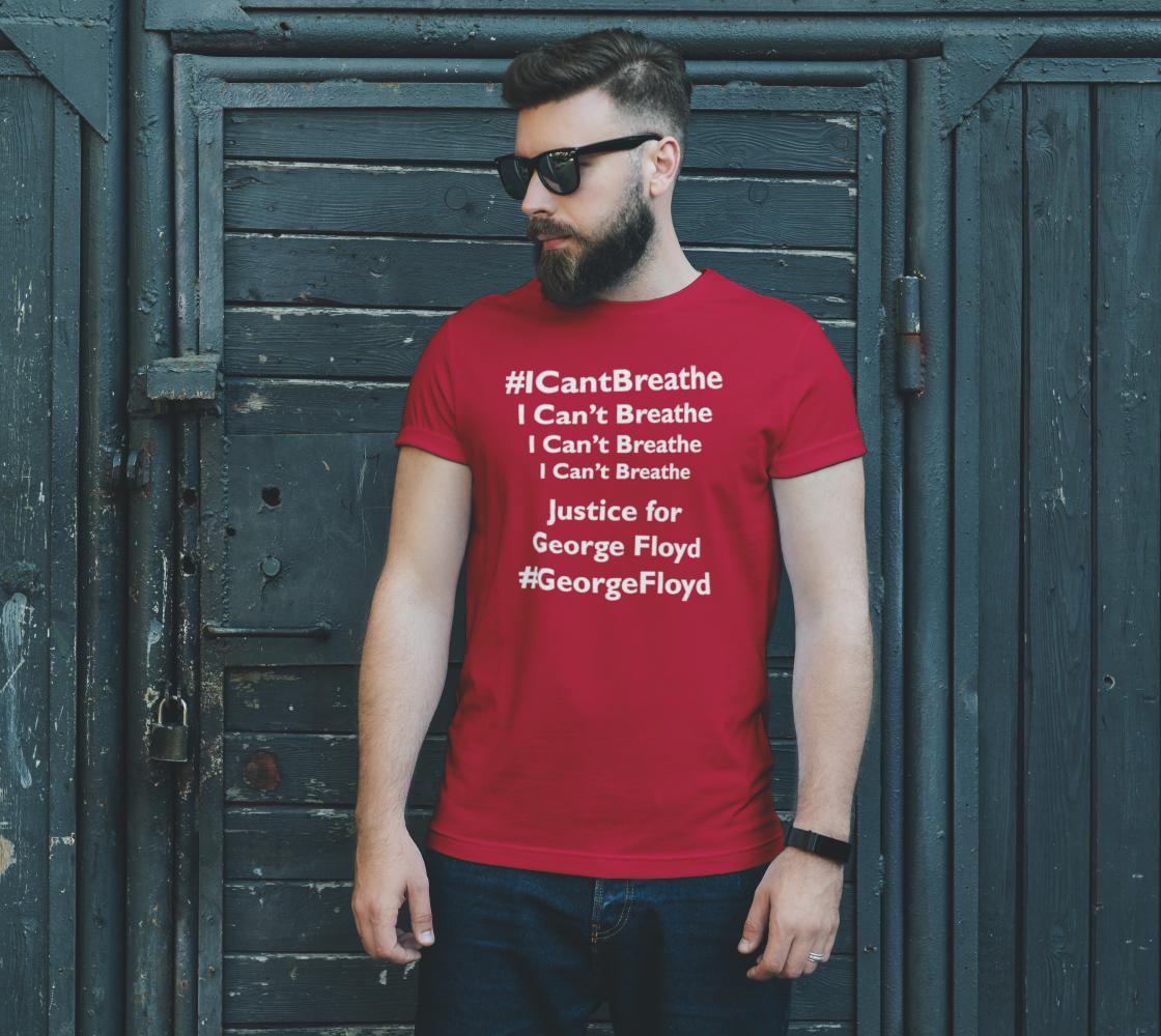 Aperçu de I Can't Breathe George Floyd Last Words BLM Unisex T-Shirt, AOWSGD #2