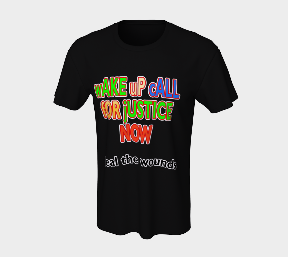 Wake Up Call for Justice Heal the Wounds Unisex T-Shirt, AOWSGD preview #7
