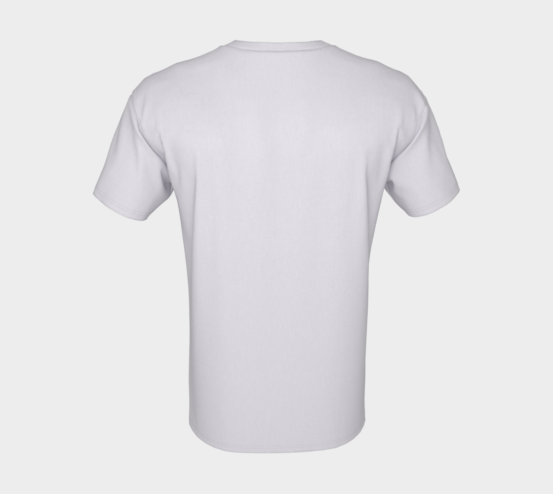 Shop Small - white unisex tee with multicolour text preview #8