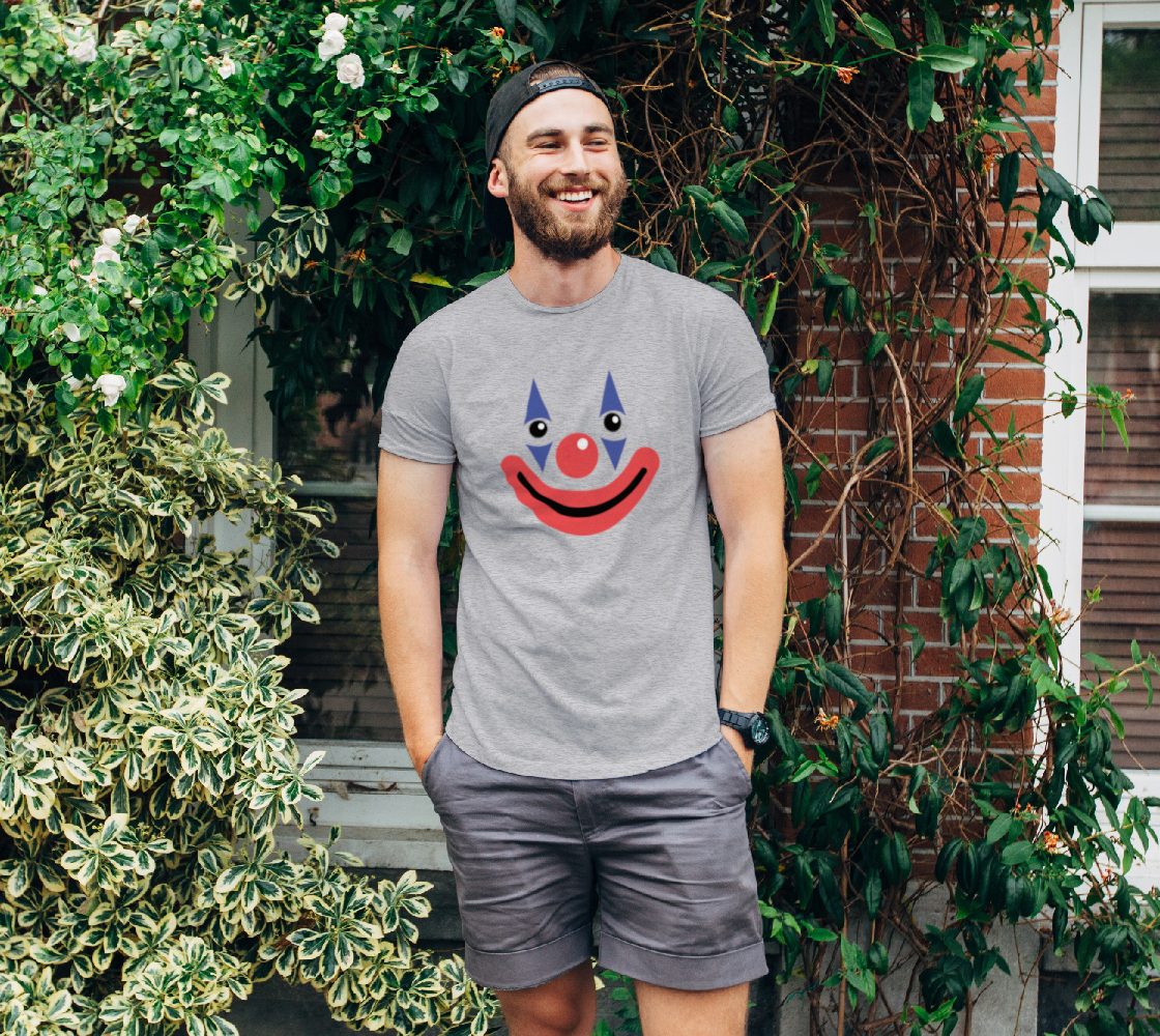 Circus Clown Smiling Face preview
