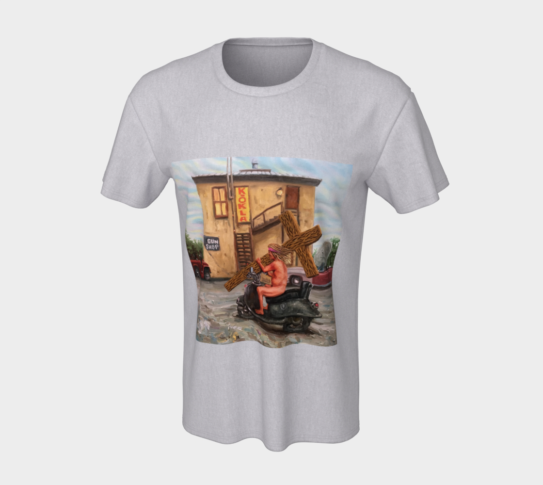 Station of the Cross T-shirt preview #7