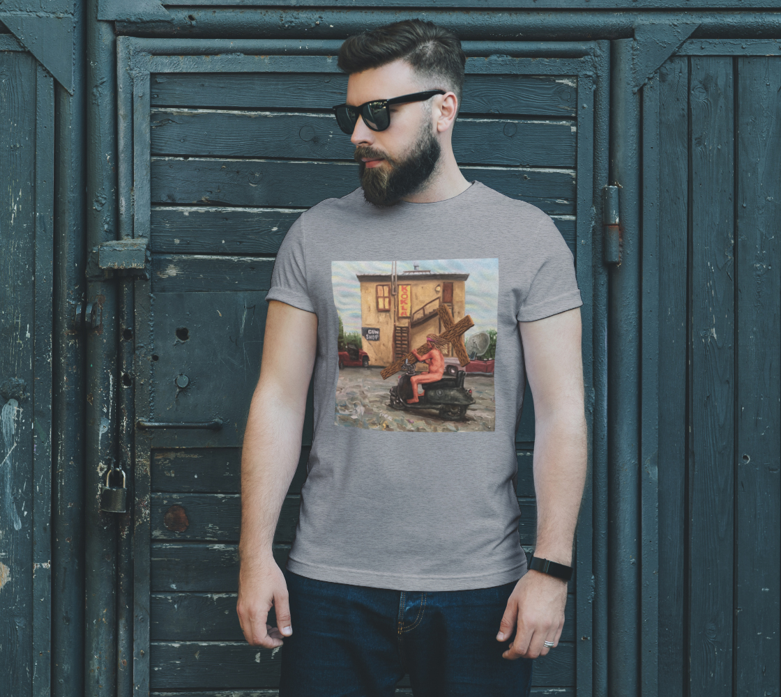 Station of the Cross T-shirt preview #2