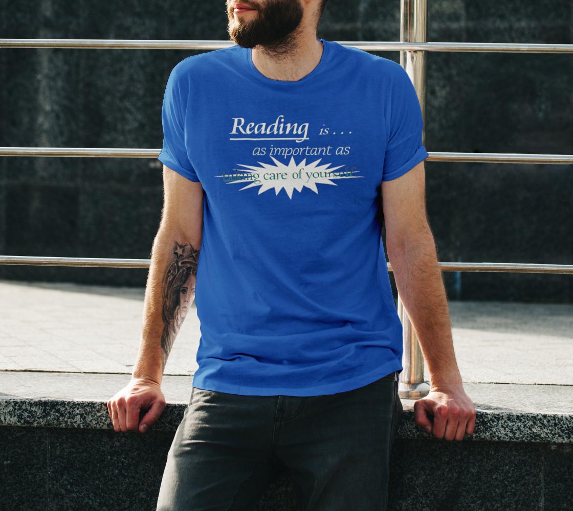 Reading DTG Unisex T Dark Royal Blue preview #3